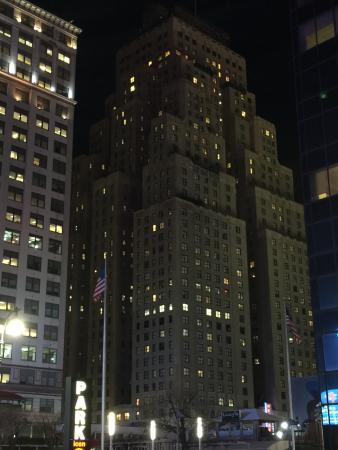 Blick Auf Das Hotel Vom Madison Square Garden Aus Picture Of The