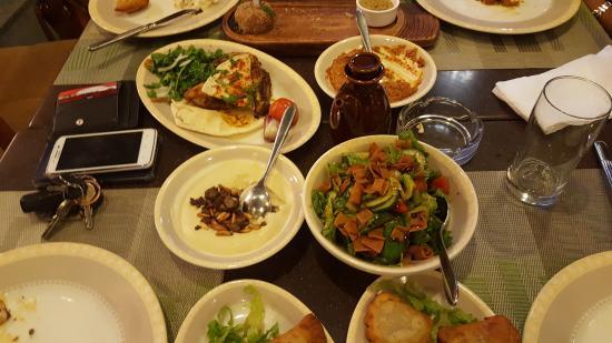 Ayam Zaman Lebanese Restaurant: Lebanese Mezzeh