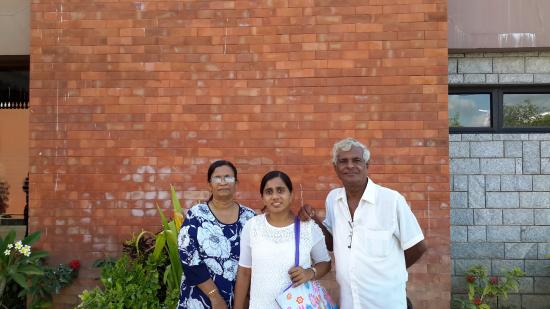 Family outside church - Picture of Seagate Church View Resorts