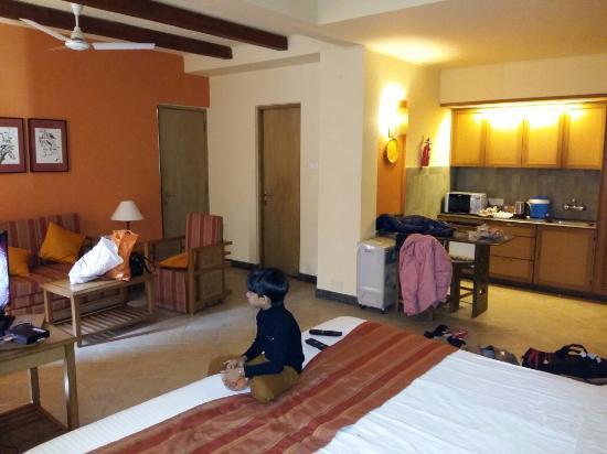 Dhar, Índia: Woodie Resort