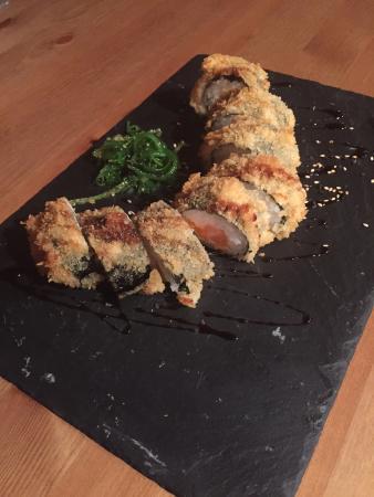 Corbera de Llobregat, สเปน: Un plato tempur con salmón impresionante!