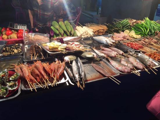Sanya, China: морепродукты