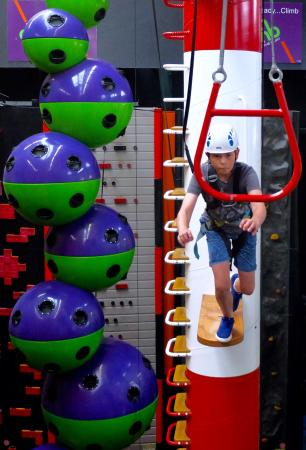 Clip 'n Climb Exeter: Take the leap of faith...do you dare?