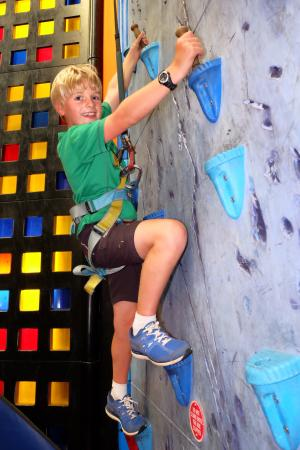 Clip 'n Climb Exeter: Ice climbing - without the cold!