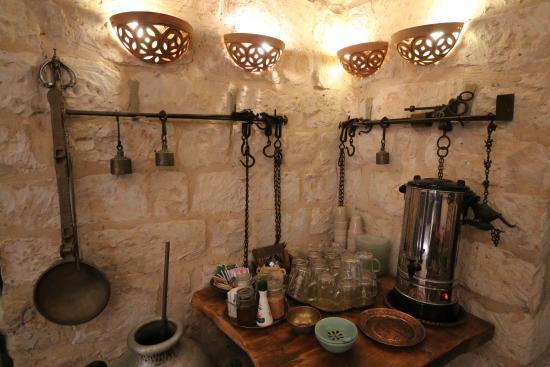 Shulamit Yard: Coffee corner in the lobby