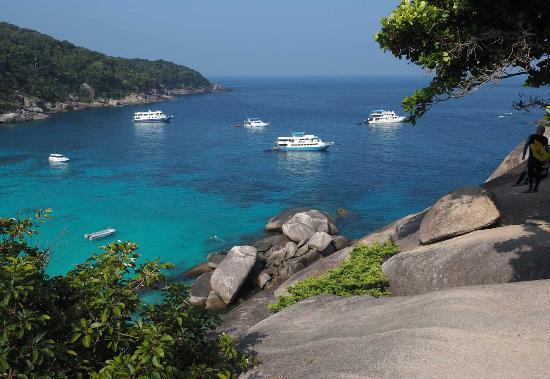 Dive The World: View from Sail Rock on Island 8 (Ko Similan)