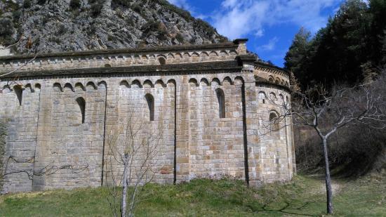 Province of Huesca, Spain: Monasterio de Obarra. Lateral