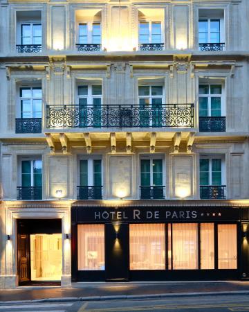 Hotel R de Paris : Façade
