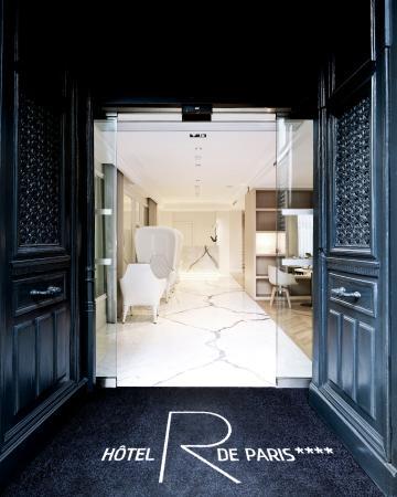 Hotel R de Paris : Entrée