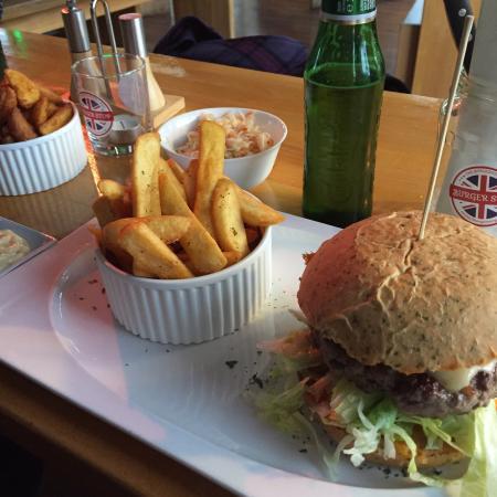 Sehr guter Burger, Ambiente könnte noch optimiert werden