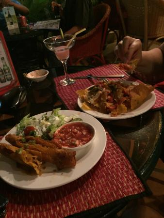 Great Mexican in Siem Reap wasn't expecting that.