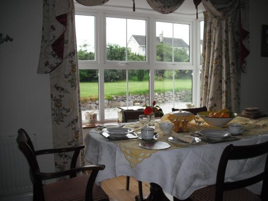Dromineer, Ireland: Breakfast room