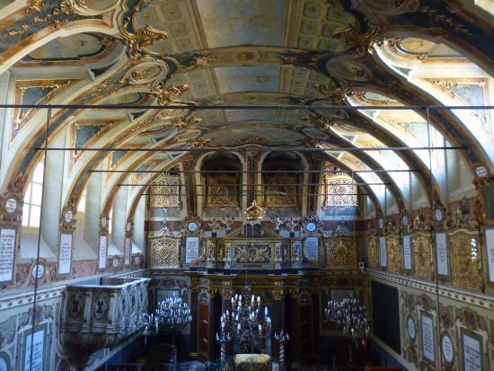 Sinagoga: Интерьер