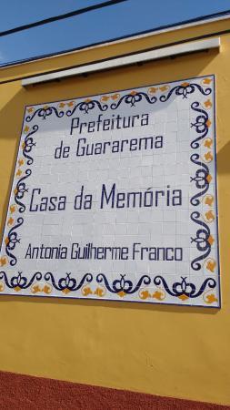 Casa da Memoria Antonia Guilherme Franco