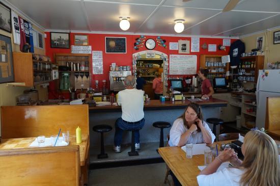 Otis Cafe: inside the cafe
