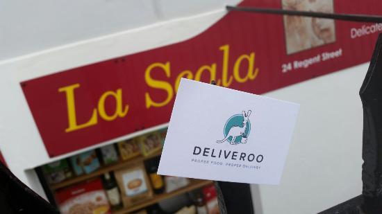 La scala Delicatessen at Deliveroo !!!