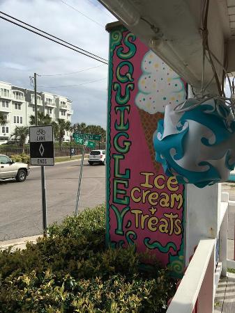 Squigley's Ice Cream & Treats : Squigley's, Carolina Beach