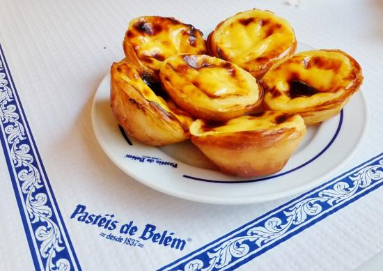 pastel de nata custard tart picture of pasteis de belem lisbon tripadvisor. Black Bedroom Furniture Sets. Home Design Ideas
