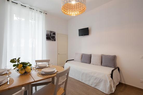 salotto open space, bilo3 - picture of il carugio di corniglia ... - Zona Giorno Open Space
