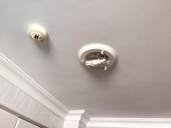 Apartamentos Dorotea: Kitchen ceiling