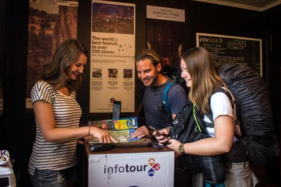 Hostal Providencia: InfoTour office