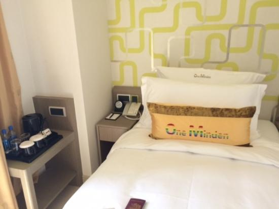 the bed very confy picture of harbour bay hotel hong kong rh tripadvisor com