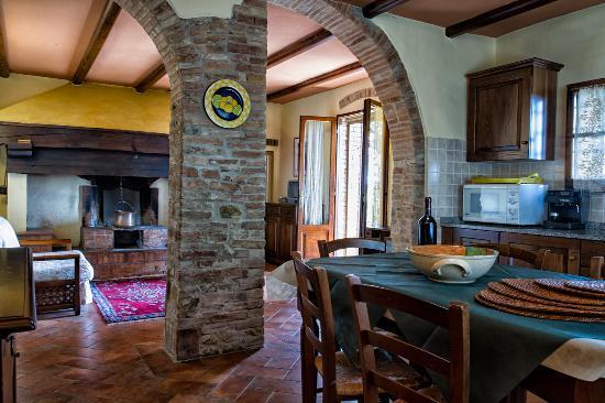Montespertoli, อิตาลี: Apartment Cipresso