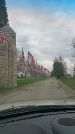 Foto de The Avenue of 444 Flags