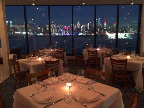 View From Dining Room Picture Of Molos Restaurant Weehawken