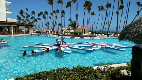 paddle board yoga picture of paradisus palma real golf spa rh tripadvisor com sg