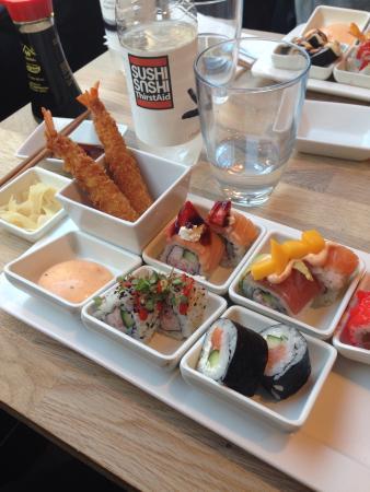 in sushi randers