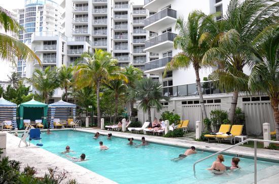 View From Our Balcony Picture Of The Confidante Miami Beach Miami Beach Tripadvisor