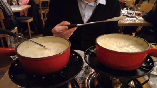 Les deux fondues - Picture of Le Dezaley, Zurich - TripAdvisor | {Fondues 90}