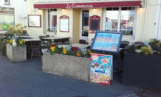 Restaurant Le Commerce Penestin Menu