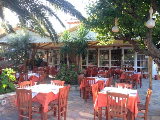 Hotel Vontzos: greek food place