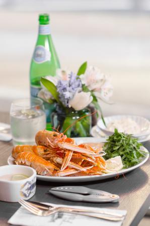 George Street Fish Restaurant & Chip Shop: Fresh local Langoustine