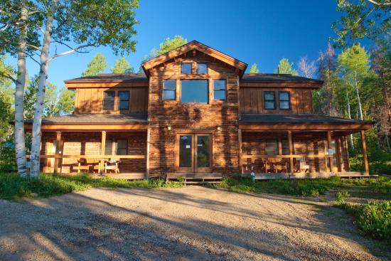 Clark, CO: Lodge and Shower House