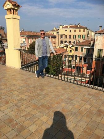 Ca dei Polo: Roof terrace