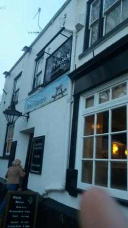 The White Horse: Went with the Missus and dog