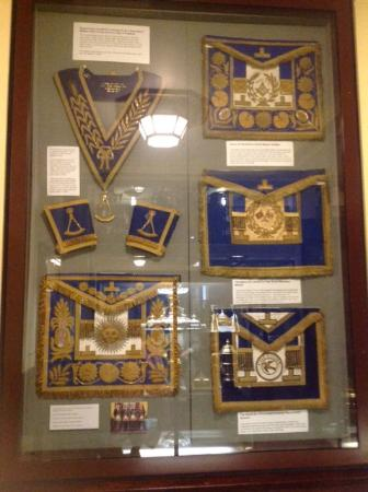 Display of ceremonial clothing in the museum  - Picture of