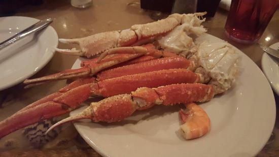 captain george s williamsburg crab legs fresh and yummy picture of rh tripadvisor co uk