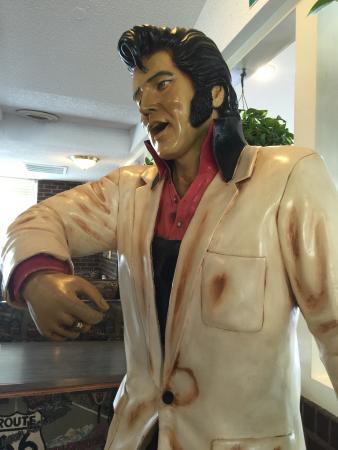 Darlington, Carolina del Sur: The King! Along with Marilyn and James Dean at Taki's!!!!