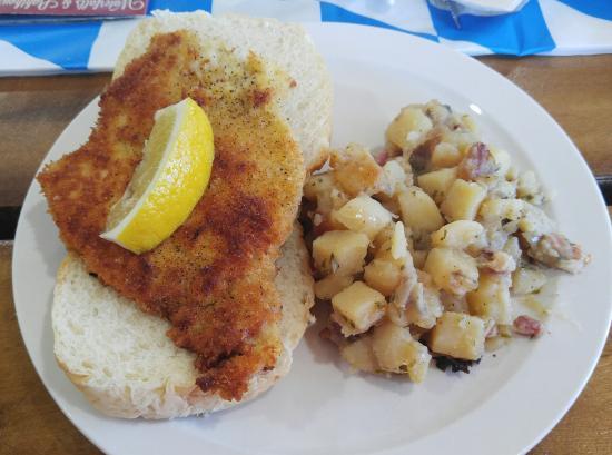 Au Train, MI: Pork Schnitzel