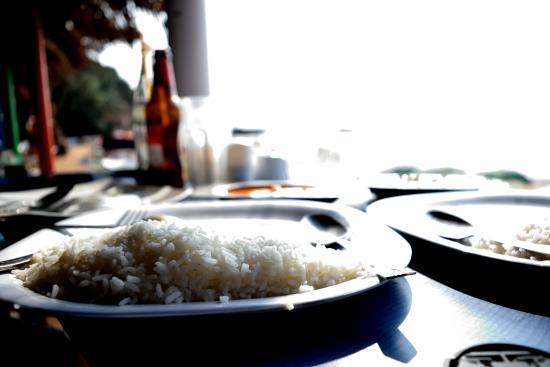 Anjuna, India: Food at Curlies