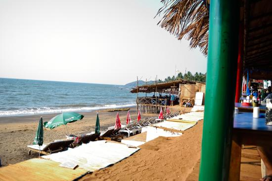 Anjuna, India: Views from Curlies