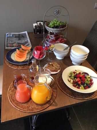 Oudenaarde, Bélgica: ontbijt