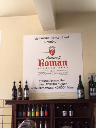 Oudenaarde, Bélgica: Bier Brouwerij Roman