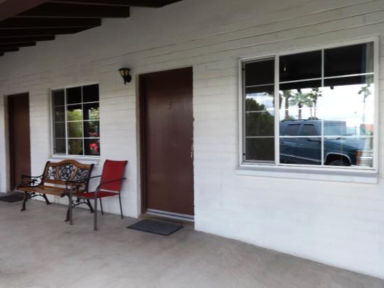 El Rancho Boulder Motel: Exterior of Room #7