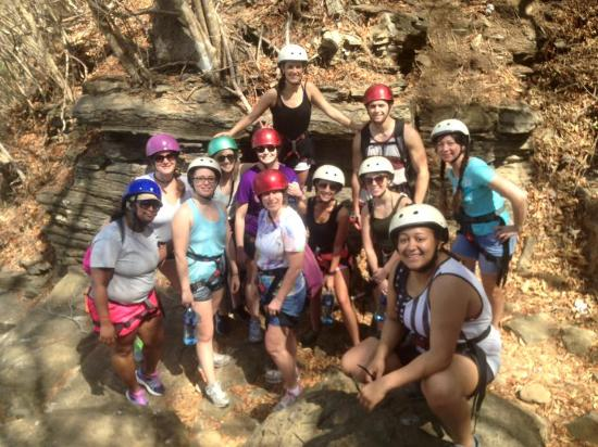 Aracne Rappelling Day Tours: Before repelling