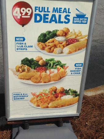 Forest Park, GA: $4.99 Full Meal Deals